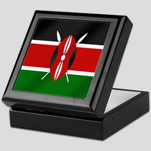 Flag of Kenya Keepsake Box