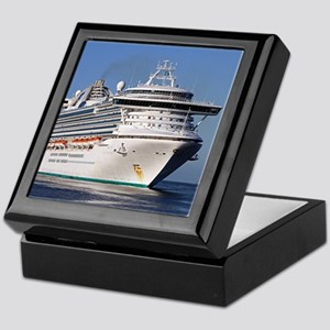 Golden Princess cruise ship Keepsake Box