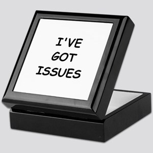 I'VE GOT ISSUES Keepsake Box