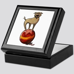 Tripawds Have A Ball Keepsake Box