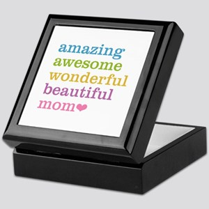 Amazing Mom Keepsake Box