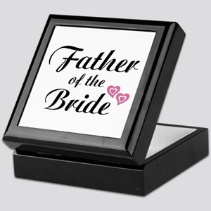 Father of the Bride Keepsake Box
