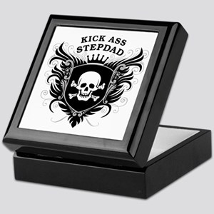 Kick Ass Stepdad Keepsake Box