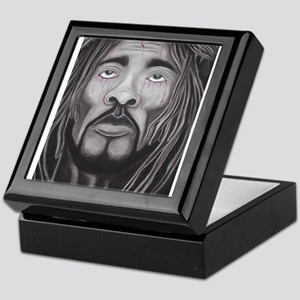 Black Jesus Keepsake Box