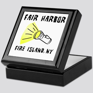 Fair Harbor Fire Island Keepsake Box