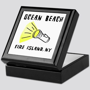 Ocean Beach Fire Island Keepsake Box
