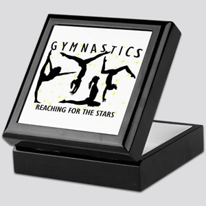 Gymnastics Reaching For The Stars Keepsake Box