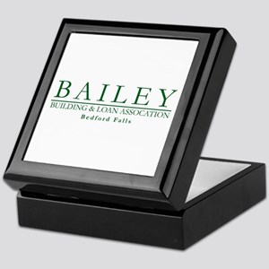 Bailey Bldg & Loan Keepsake Box