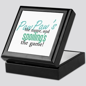 PawPaw's the Name! Keepsake Box