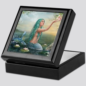 Marine Mermaid Keepsake Box