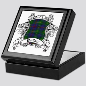 Bailey Tartan Shield Keepsake Box