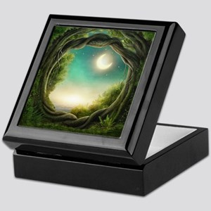 Magic Moon Tree Keepsake Box