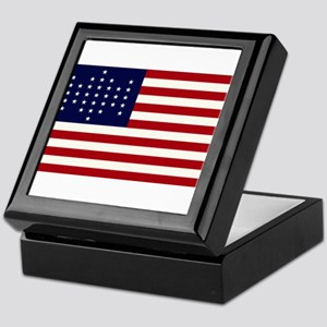 The Union Civil War Flag Keepsake Box
