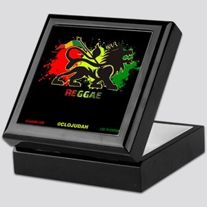 Lion of Judah Reggae Keepsake Box