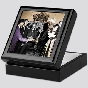 Selassie Meeting Keepsake Box