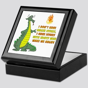 Anger Issues Keepsake Box