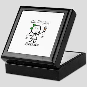 Coffee - Singing Barista Keepsake Box