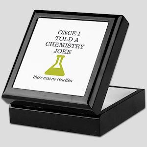 Chemistry Joke Keepsake Box