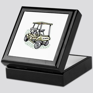 Golf34 Keepsake Box
