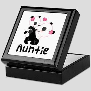 Aunt Panda Bear Keepsake Box