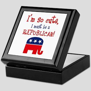 So Cute Republican Keepsake Box