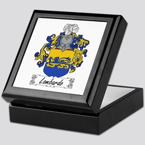 Lombardo Family Crest Keepsake Box