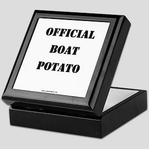 OFFICIAL BOAT POTATO Keepsake Box