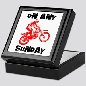 ON ANY SUNDAY Keepsake Box