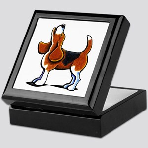 Tricolor Beagle Bay Keepsake Box