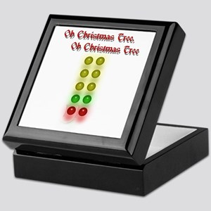 Drag Race Christmas Tree Keepsake Box