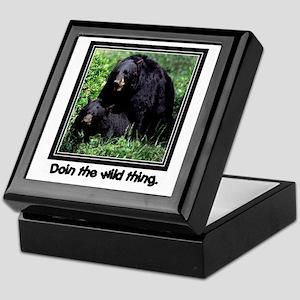 Wild Thing Bear Keepsake Box