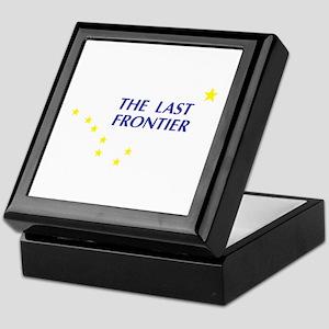 Alaska The Last Frontier Stat Keepsake Box