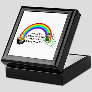 May You Never Want Keepsake Box