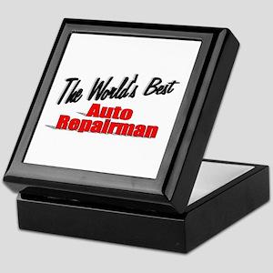 """The World's Best Auto Repairman"" Keepsake Box"