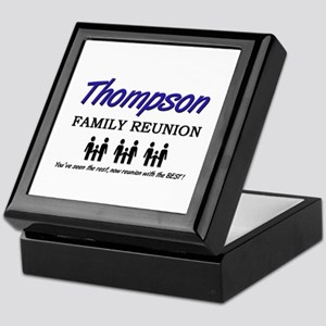 Thompson Family Reunion Keepsake Box