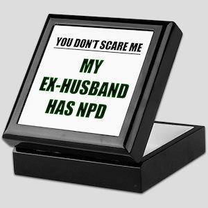 My Ex-Husband Has NPD Keepsake Box