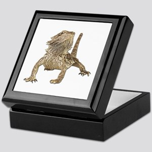 Bearded Dragon Photo Keepsake Box