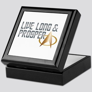 LIVE LONG & PROSPER Keepsake Box