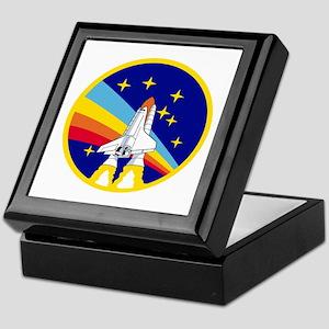 Rainbow Rocket Keepsake Box