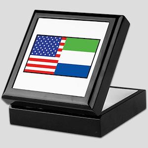 USA/Sierra Leone Keepsake Box