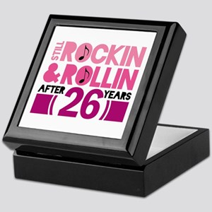 26th Anniversary Funny Gift Keepsake Box