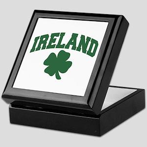 Ireland Shamrock Keepsake Box