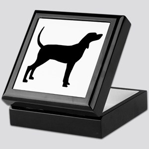 Coonhound Dog (#2) Keepsake Box