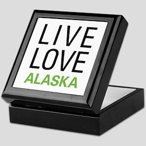 Live Love Alaska Keepsake Box