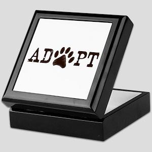 Adopt an Animal Keepsake Box