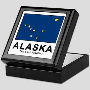 Alaska Flag Keepsake Box