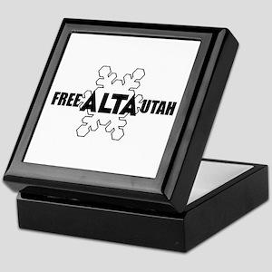 Free Alta Utah Keepsake Box