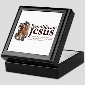 Republican Jesus Keepsake Box