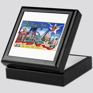 Texas Greetings Keepsake Box