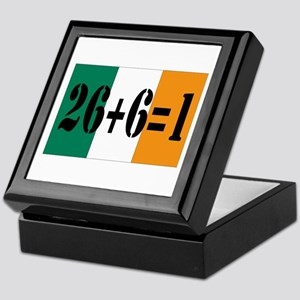 Irish pride Keepsake Box